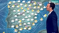 Nevadas sobre todo en la mitad norte y caída notable de temperaturas