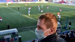 En Bielorrusia se sigue jugando al fútbol a pesar del coronavirus