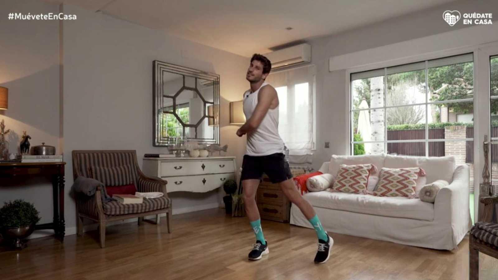 Muévete en casa - Programa 6 (cómo trabajar brazos, piernas y abdomen en casa) - ver ahora