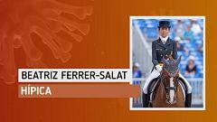 """Beatriz Ferrer-Salat """"Tengo la posibilidad de recuperarme de una lesión y estar en el equipo el año que viene"""""""