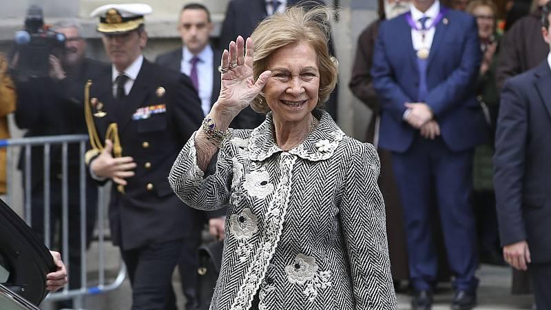 La reina Sofía se suma a la lucha contra el coronavirus