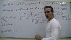 Aprendemos en casa - De 12 a 14 años - Matemáticas: polinomios y ecuaciones con David Calle