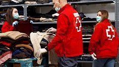 Cruz Roja ofrece atención psicosocial a enfermos de coronavirus y familiares en Segovia y Soria