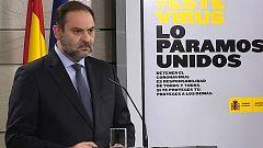 """Ábalos: """"Vamos a aprobar una orden ministerial que permita justificar a los trabajadores su movilidad"""""""