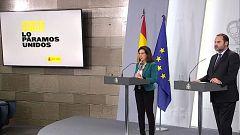 Especial informativo - Coronavirus. Comparecencia del ministro de Transportes y de la ministra de Defensa - 31/03/20