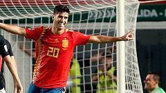 Marco Asensio da el triunfo final a España sobre Alemania (3-2)