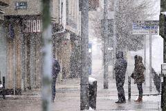 Crónica de lo cotidiano: nevadas que distorsionan la rutina del confinamiento