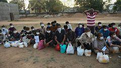 El confinamiento en la India agrava la pobreza de sus habitantes