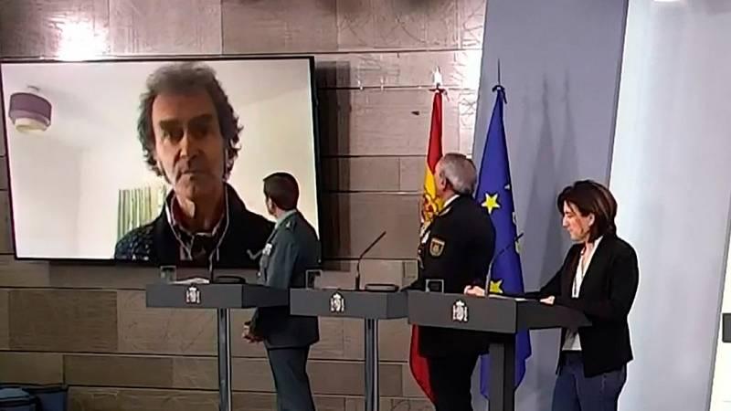 """Fernando Simón: """"Afortunadamente me encuentro muy bien"""""""