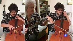 Un músico palentino consigue el aplauso de Brian May en las redes sociales