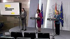 Especial informativo - Comparecencia de la portavoz y vicepresidentes del gobierno - 31/03/20
