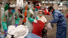 """Madrid reconoce """"desajustes"""" de funcionamiento del hospital instalado en IFEMA"""