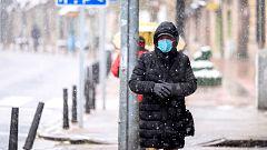 El confinamiento reduce los efectos negativos de las nevadas de estos días