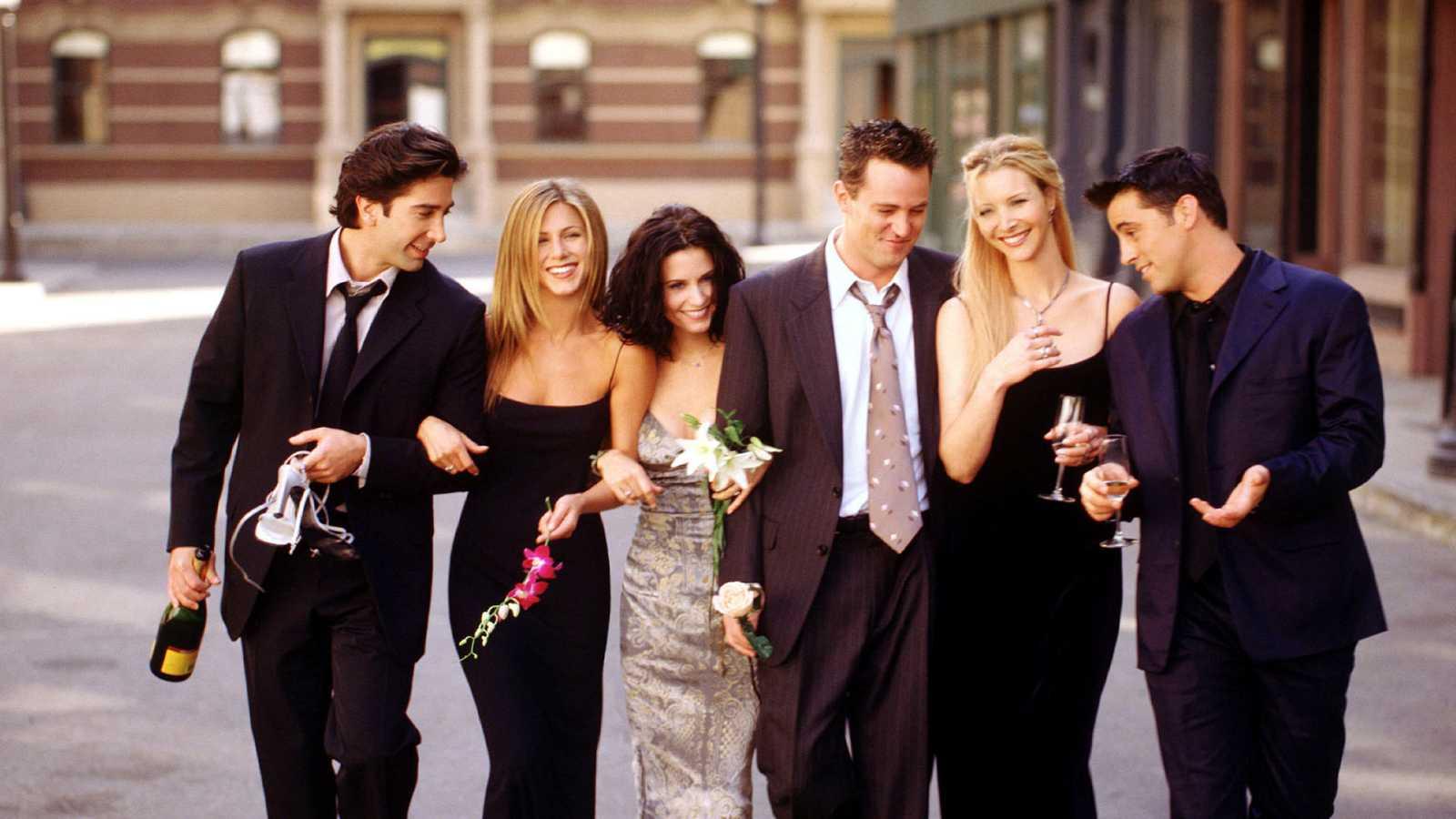 Mira cómo han cambiado los protagonistas de Friends