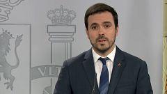 """Alberto Garzón: """"Creo que después de esta crisis seremos capaces de volver a poner los cuidados en el centro de la vida"""""""