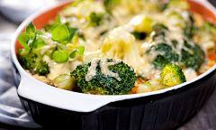 Aquí la Tierra - Receta de coliflor y brócoli al horno