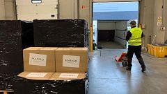 España Directo - Recorrido del material sanitario hasta los hospitales