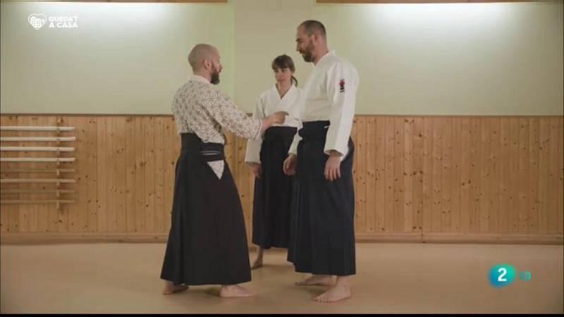 Aikido, un esport que coordina l'energia del cos i la ment