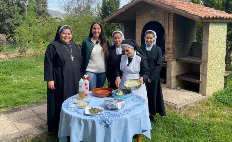 Cocina de convento: cabrito almendrado