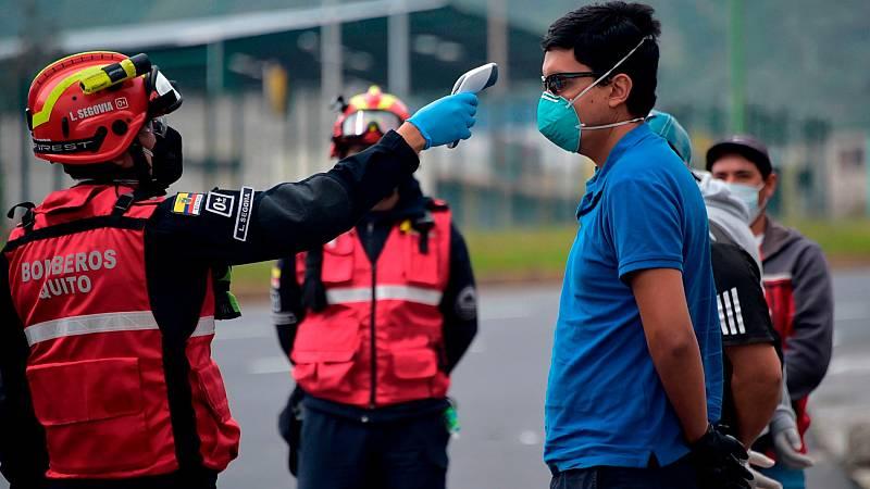 Ecuador es el segundo país de América Latina con más afectados con coronavirus