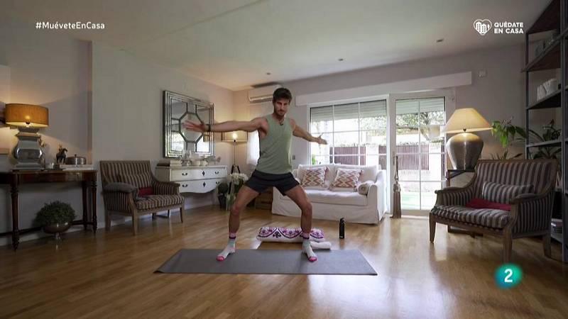 Muévete en casa - ¡Calentamos con ejercicios de yoga!
