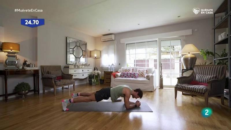 Muévete en casa - ¡Fortalece gemelos, glúteos, brazos y abdomen!