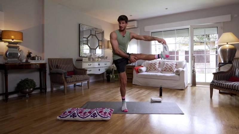Muévete en casa - Programa 9 (cómo trabajar equilibrio y flexibilidad en casa) - ver ahora