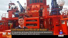 ¿Cómo es vivir la cuarentena en un buque de Salvamento Marítimo?