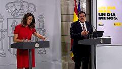 Especial informativo - Comparecencia de la ministra de Trabajo y del ministro de Inclusión - 02/04/20
