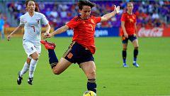Quédate en casa con TDP - Fútbol - Torneo femenino SheBelieves Cup: España - Japón
