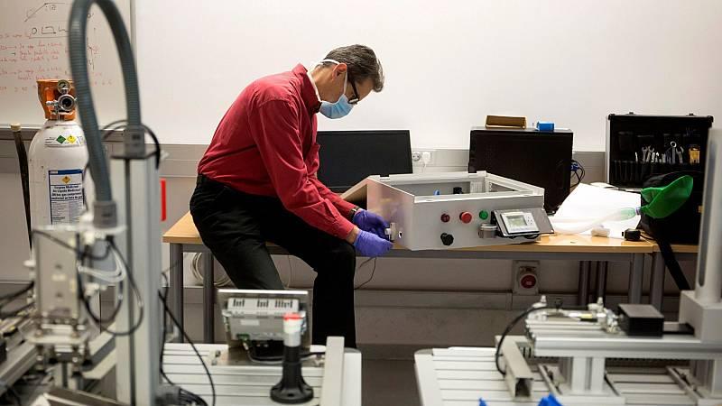 La Agencia del Medicamento recuerda que los respiradores deben homologarse antes de usarse para tratar el coronavirus