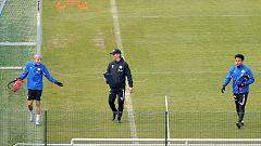 Algunos equipos alemanes vuelven a los entrenamientos con medidas preventivas