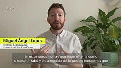 """Miguel Ángel López: """"El tema de la muerte no debe ser tabú en los niños y debemos ayudarles a despedirse"""""""