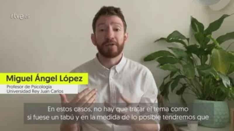 Miguel Ángel López: ¿El tema de la muerte no debe ser tabú en los niños y debemos ayudarles a despedirse¿