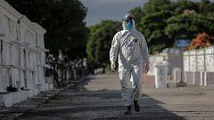 "La crisis del coronavirus, un ""duelo de riesgo"""