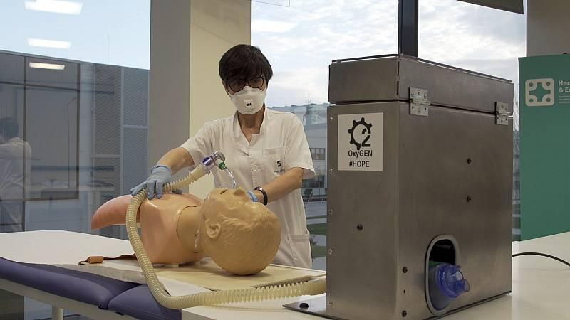 Universidades y voluntarios diseñan respiradores a contrarreloj para luchar contra el coronavirus