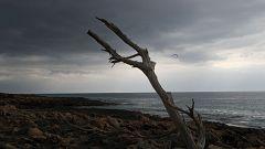 Cielo poco nuboso o despejado y chubascos en Baleares
