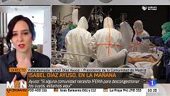 Isabel Díaz Ayuso: ''El principal problema que ha habido en España es que no ha existido un control real de la epidemia''