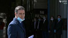Sánchez visita la empresa de Móstoles que fabricará cien respiradores al día