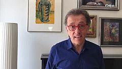 Jordi Hurtado lee, ve series, y teletrabaja, pero no se olvida de hacer ejercicio