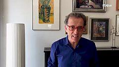 Jordi Hurtado llegeix, mira sèries i treballa, però no s'oblida de fer exercici