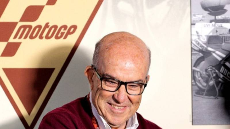 """Carmelo Ezpeleta, jefe de Dorna: """"Con ayudas económicas a los equipos de MotoGP podremos salir adelante"""""""