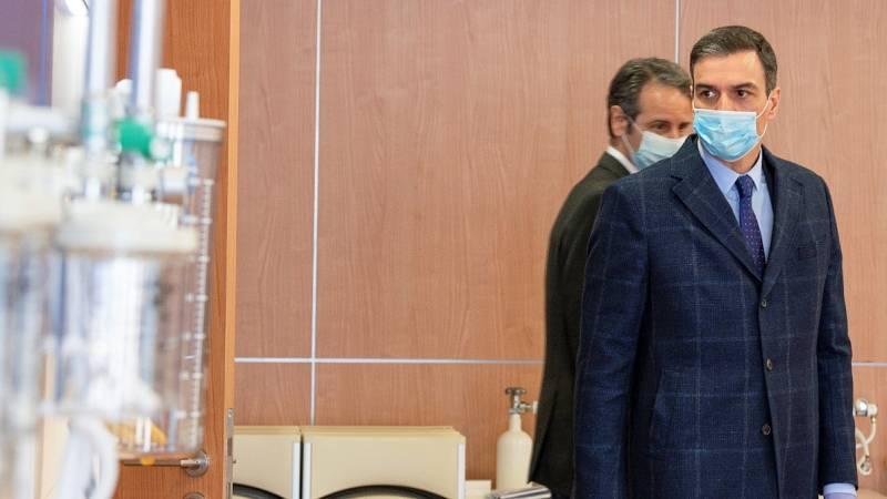Sánchez comunicará mañana si pide al Congreso prorrogar el estado de alarma