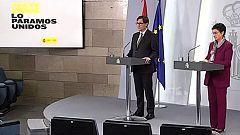 Especial informativo - Comparecencia del ministro de Sanidad y la ministra de Exteriores - 03/04/20