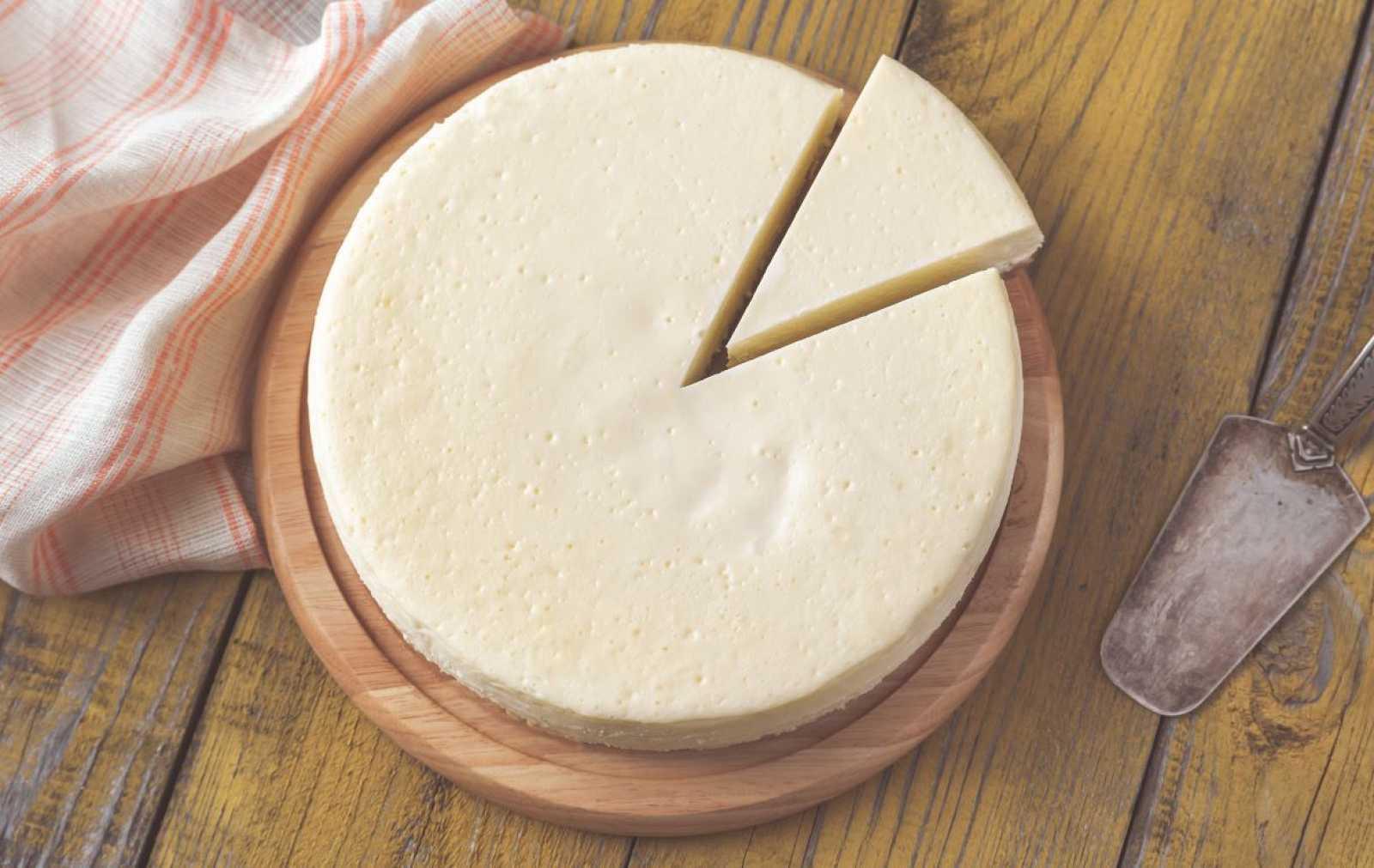 Tarta de queso facilísima de Sergio Fernández