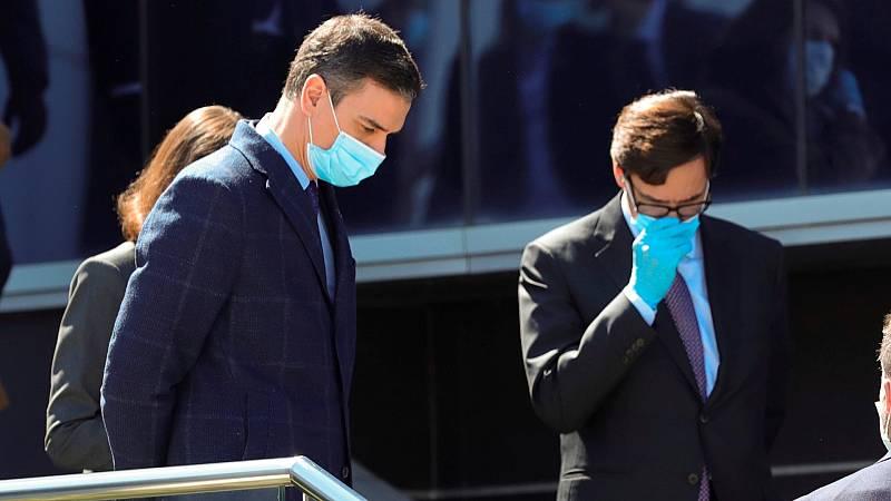 """Pedro Sánchez: """"Vamos a garantizar la provisión de mascarillas y geles desinfectantes"""""""