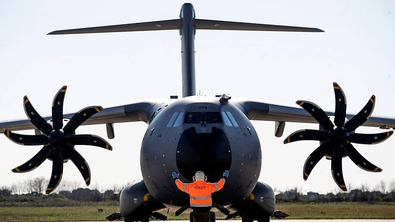 Turquía retiene un avión con respiradores para España