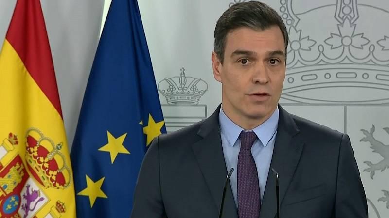 """Pedro Sánchez advierte a Europa: """"España no va a renunciar a los eurobonos"""""""