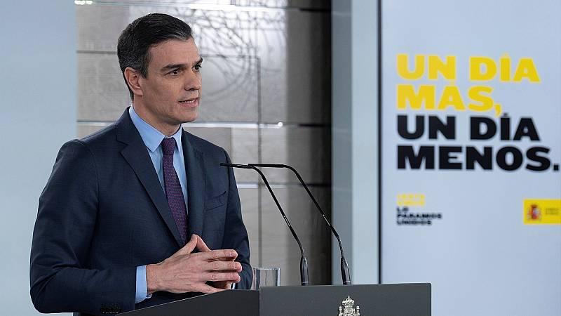 Sánchez anuncia una nueva prórroga del estado de alarma