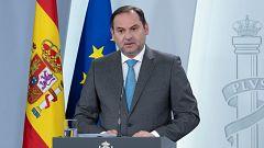 """José Luis Ábalos: """"La reducción de la movilidad ha sido drástica"""""""